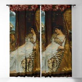 "Sir Lawrence Alma-Tadema ""The Meeting of Antony and Cleopatra"" Blackout Curtain"