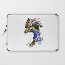 Golden Eagle - Colorful Watercolor Painting Laptop Sleeve