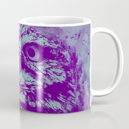 owl portrait 5 wspb Coffee Mug