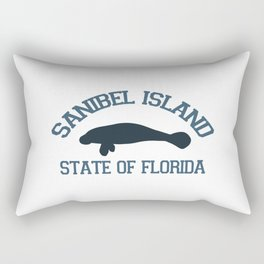 Sanibel Island - Florida. Rectangular Pillow