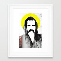nick cave Framed Art Prints featuring Nick Cave by Teagues Art