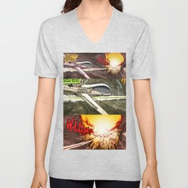 Remote Wham! Unisex V-Neck