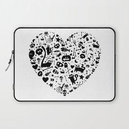 Halloween Heart Laptop Sleeve