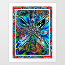 Under The See* Is Were You'll Beee!* Art Print