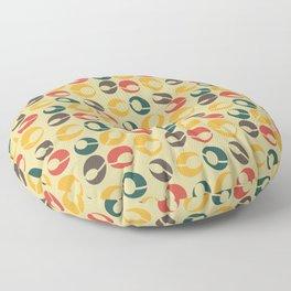 Mid-Century Modern Martini (gold) Floor Pillow
