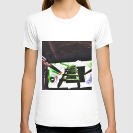 ladder going up or down T-shirt