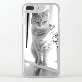 Esmeralda - On The Windowsill Clear iPhone Case