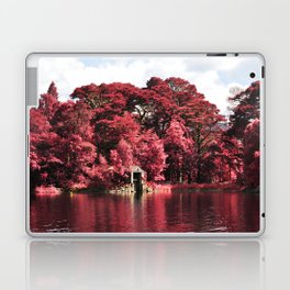 Magical Red Forest Laptop & iPad Skin