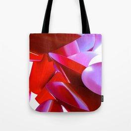 Crimson Fortress Tote Bag