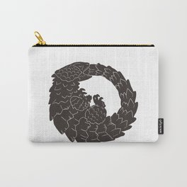 Armadillo Lizard Circle Carry-All Pouch