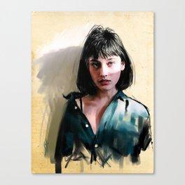 """lydia4"" Canvas Print"