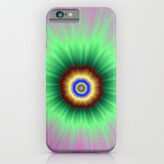 Explosion of Color in Pink and Green iPhone 6s Slim Case