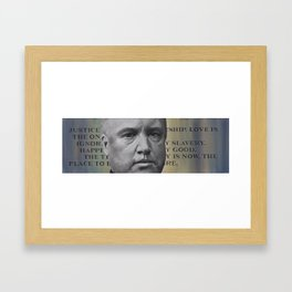 Creed - Robert G. Ingersoll Framed Art Print
