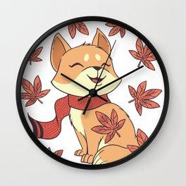 Kawaii Cat Wall Clock