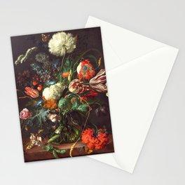 Vase of Flowers II - de Heem Stationery Cards