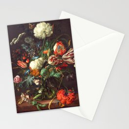 Vase of Flowers II - de Heem Stationery Cards