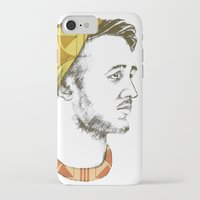 indie iPhone & iPod Cases featuring Indie Boy by Anne Dippy