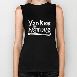 YANKEE by Nature New York Baseball Bat Funny Men_s Tee softball Biker Tank