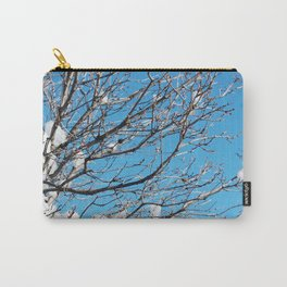 Winter Time Tree Carry-All Pouch