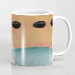 Hot Stone Massage Abstract Digital Painting  Coffee Mug