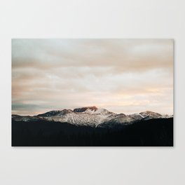 Sunset on Trail Ridge Canvas Print
