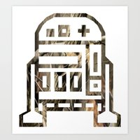 r2d2 Art Prints featuring R2D2 by Arlo Pavlovich