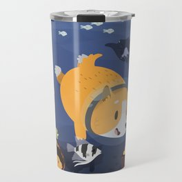 Diving For Treasure! Travel Mug