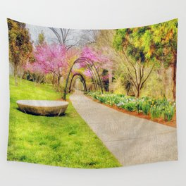 Beautiful Spring Wall Tapestry