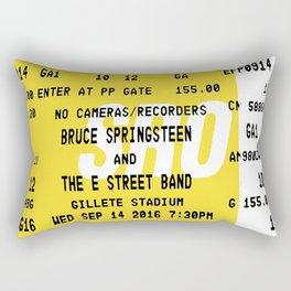 Ticket Stub Rectangular Pillow