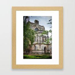 Rosslyn Chapel outside Edinburgh, Scotland Framed Art Print