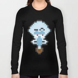 Squidward Pixels Long Sleeve T-shirt