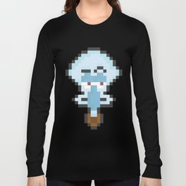 Squidward Pixels Long Sleeve T-shirt