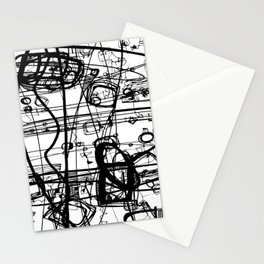 Doodle Love 4A by kathy Morton Stanion Stationery Cards