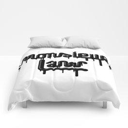 Monsieur law - petrol Comforters