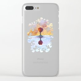 As Above So Below  No15 Clear iPhone Case