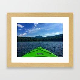Vermont Kayaking Framed Art Print