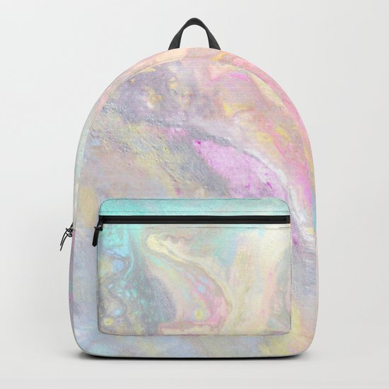 Pastel Iridescent Backpack