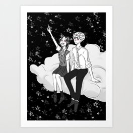 My Shooting Star Art Print