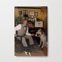 Dogs Are People, Too. Metal Print