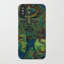Golden Embrio iPhone Case