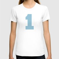 number T-shirts featuring Number 1 by Project M