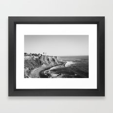 Palos Verdes Peninsula Framed Art Print