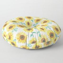 Sunny Sunflowers Floor Pillow