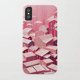 pink city iPhone Case