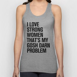 HIP HOPOLITELY // Problem Unisex Tank Top