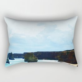 Clouds Roll In Rectangular Pillow
