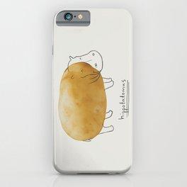 Hippotatomus iPhone Case