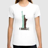 fringe T-shirts featuring Fringe. Statue of Liberty by Prosha Pro