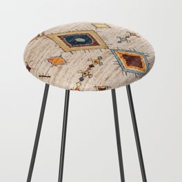 N250 - Oriental Heritage Berber Traditional Moroccan Style Counter Stool