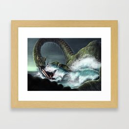 Nessie Commission Framed Art Print